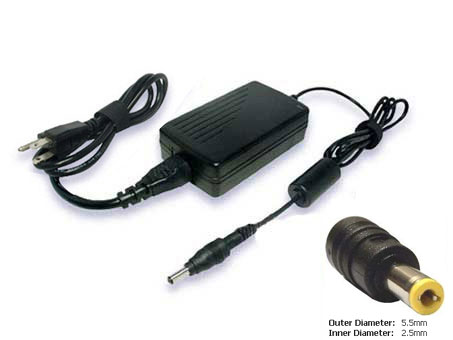 Toshiba PA3467U-1ACA Laptop AC Adapter, Toshiba  PA3467U-1ACA Power Supply/Adapter
